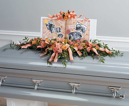 Reunion Casket Spray