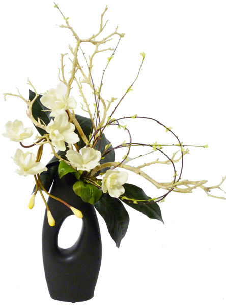 Approximately 24 Tall By 7 Wide Artificial Flowers Plants